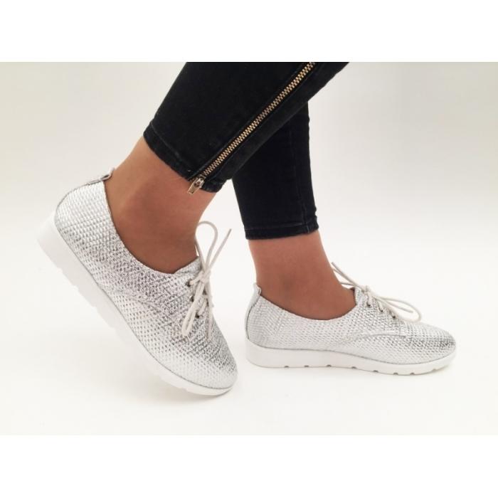 Pantofi Casual Oxy White