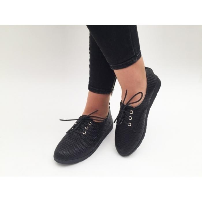 Pantofi Casual Oxy Black
