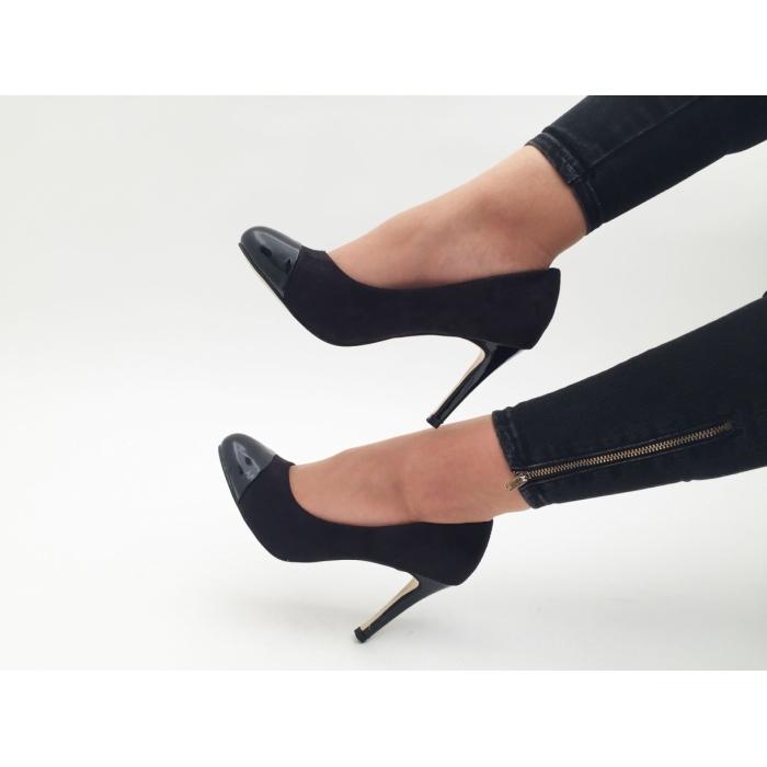 Pantofi cu toc Kate Black
