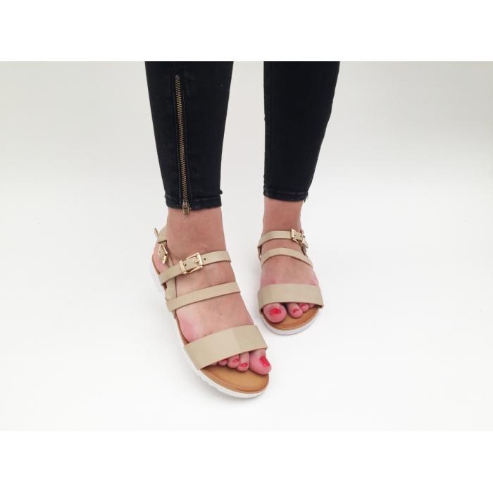 Sandale Augusta Beige