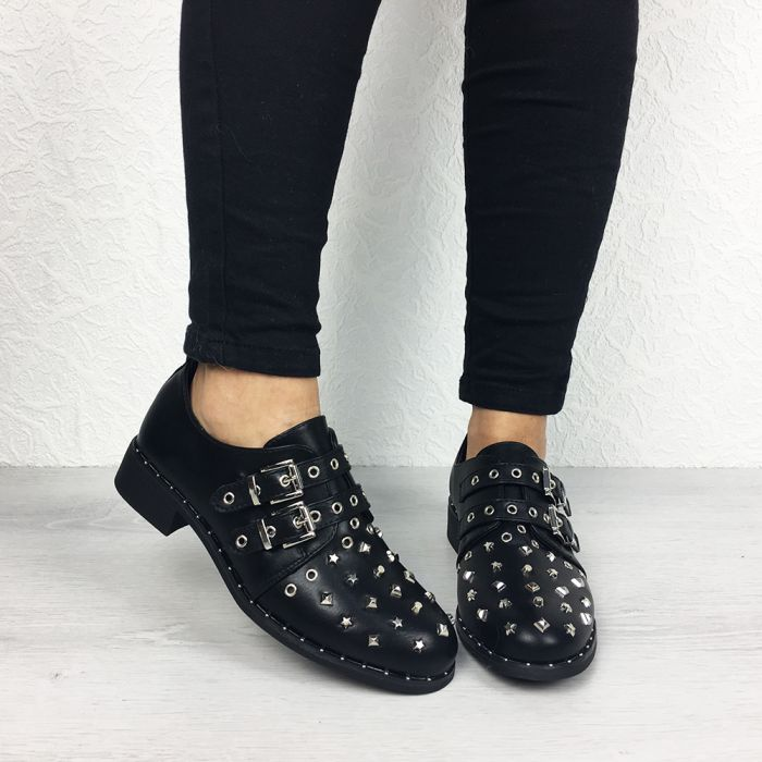 Pantofi Casual Canola Black