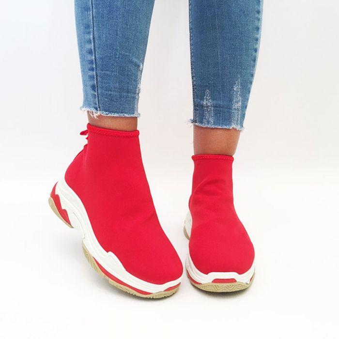 Pantofi Casual Brad Red
