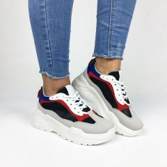 Pantofi Sport Franze Grey/Red