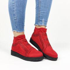 Pantofi Casual Milena Red