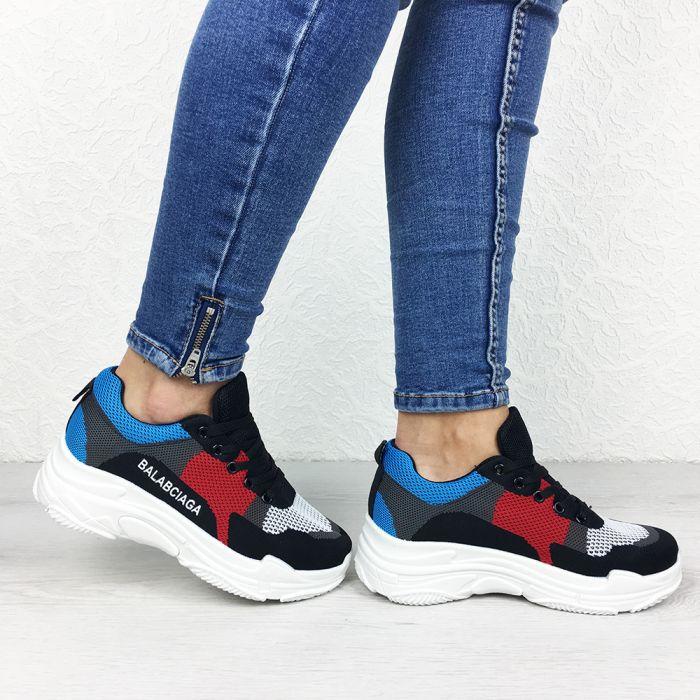Pantofi Sport Valencia Black/Red