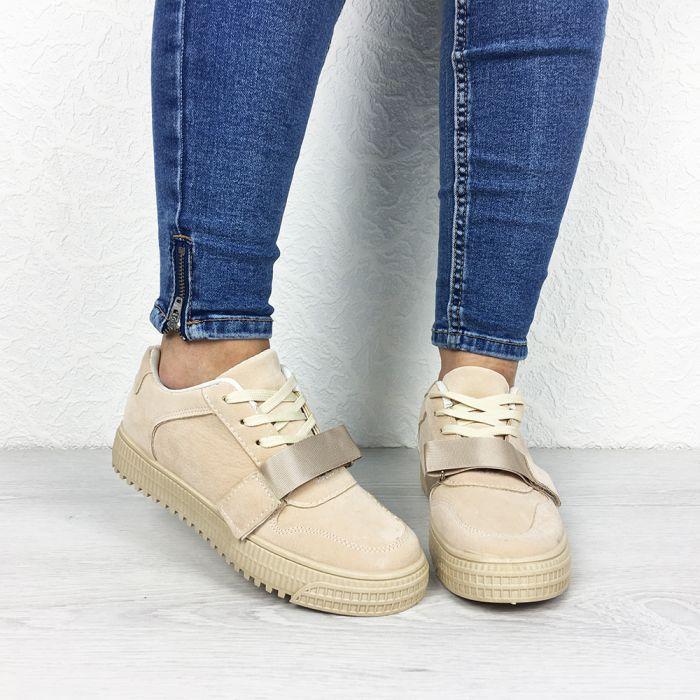 Pantofi Sport Popea Beige