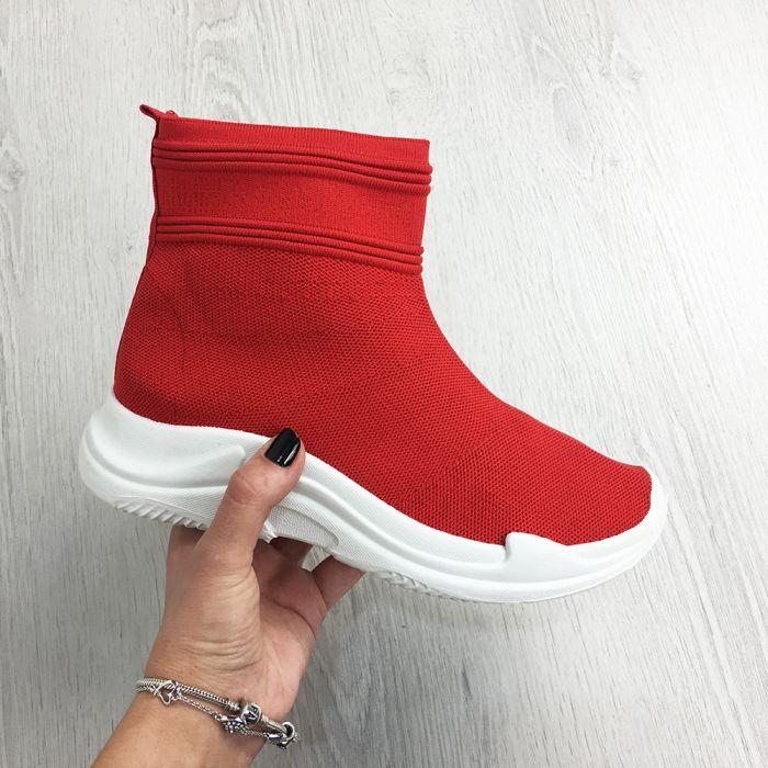 Pantofi Casual Madelin Red