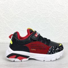 Pantofi Sport copii Pic Black/Red