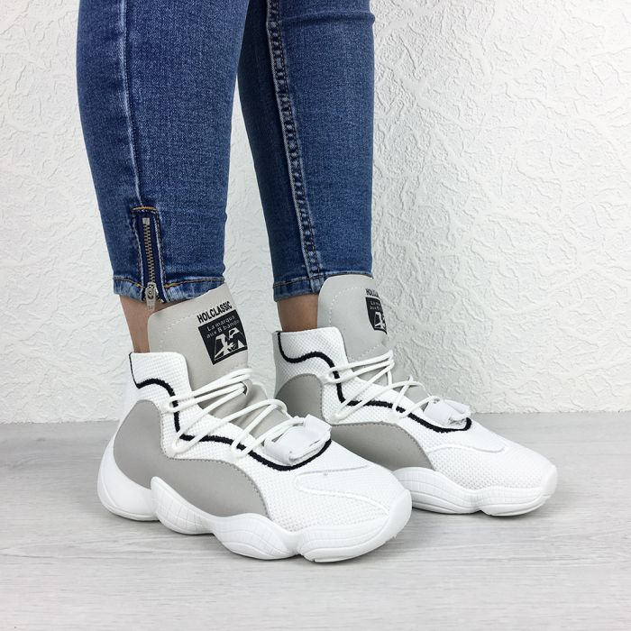 Pantofi Sport Trancy White