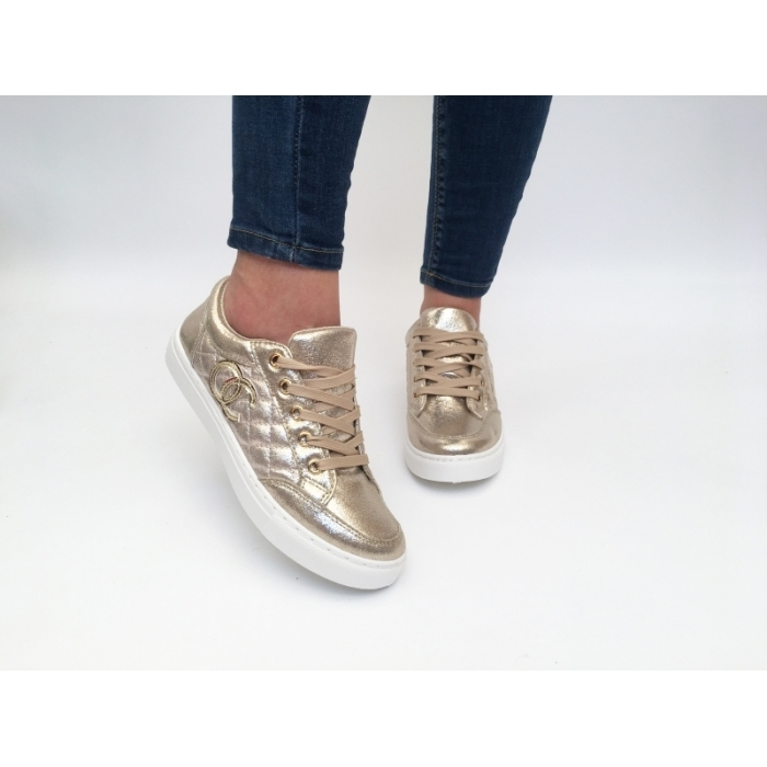 Pantofi Casual Bisko Golden