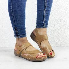 Sandale cu platforma Alegra Khaki
