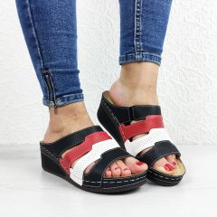 Papuci dama Carina Black
