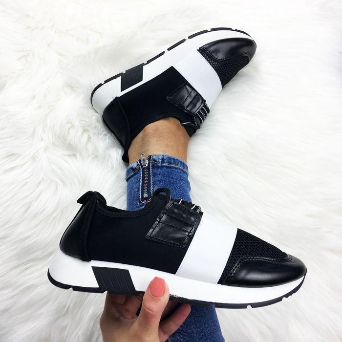 Pantofi Sport Oakland Black/White