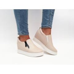 Pantofi Casual Seila Khaki