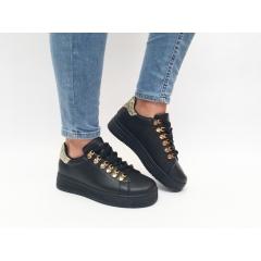 Pantofi Casual Sensi Black
