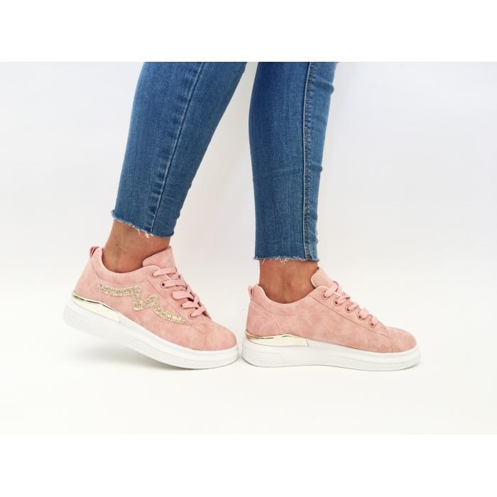 Pantofi Casual Manchester Pink