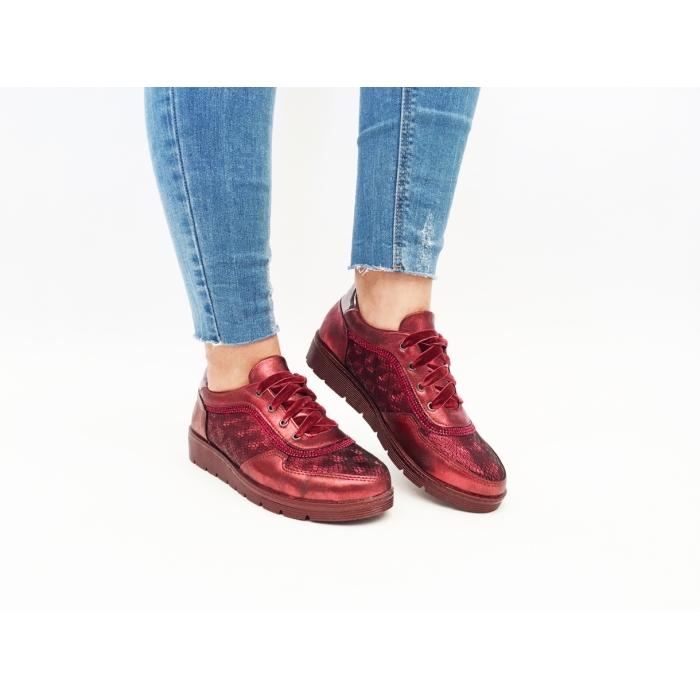 Pantofi Casual Belfast Red