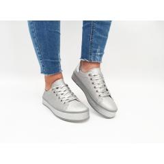 Pantofi Casual Ely Silver