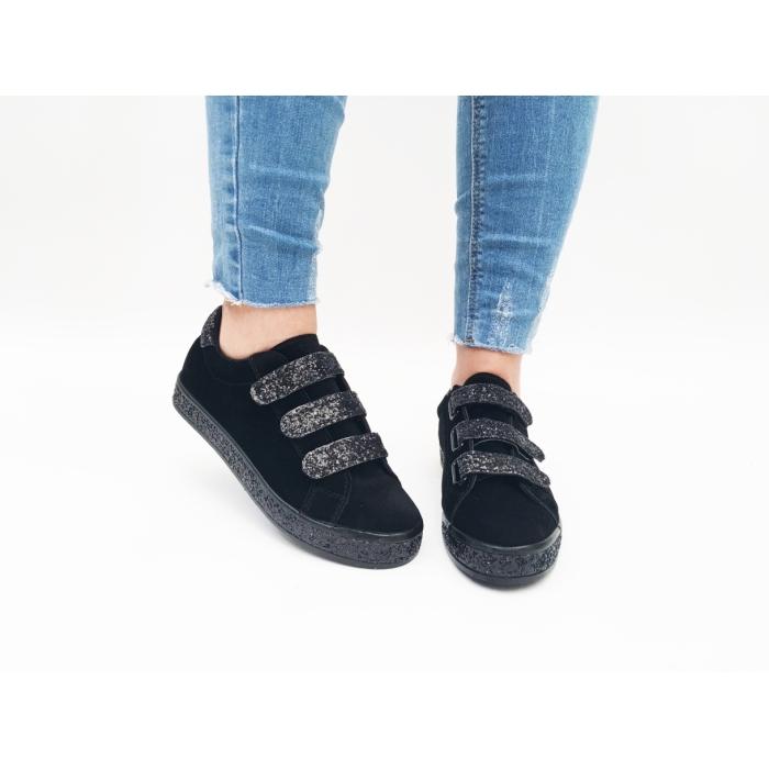 Pantofi Casual Prato Black