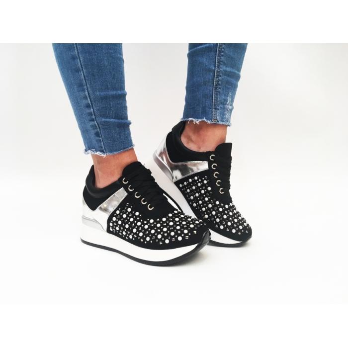 Pantofi Casual Sofia Black
