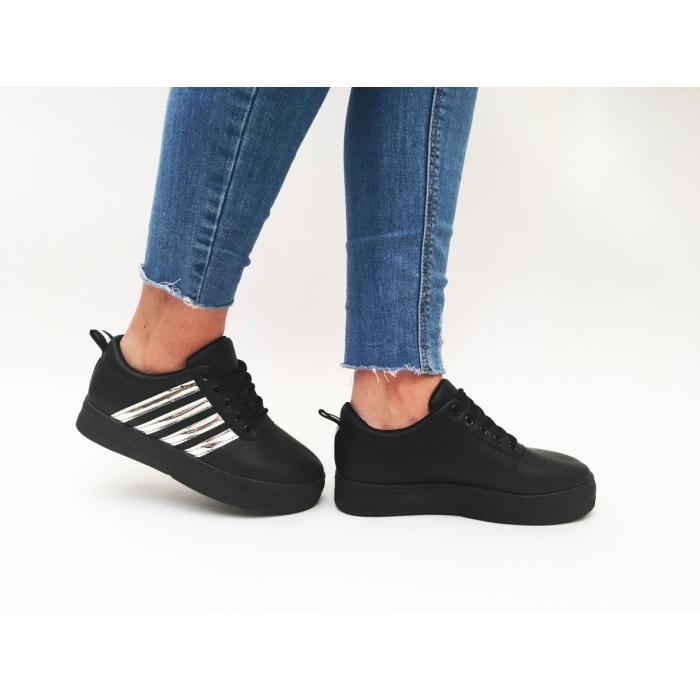 Pantofi Casual Niro Black
