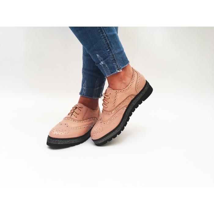 Pantofi Casual Deng Pink