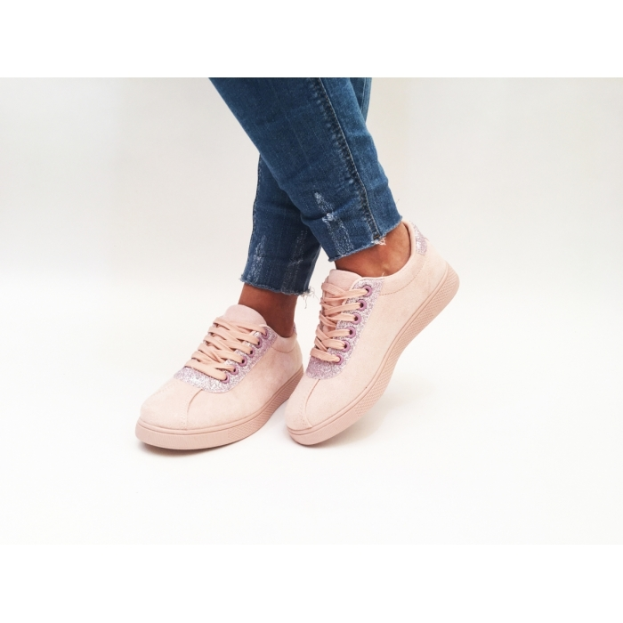 Pantofi Casual Amada Pink