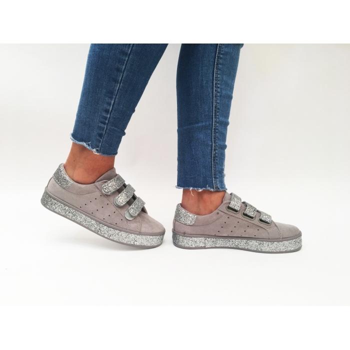 Pantofi Casual Sweet Silver
