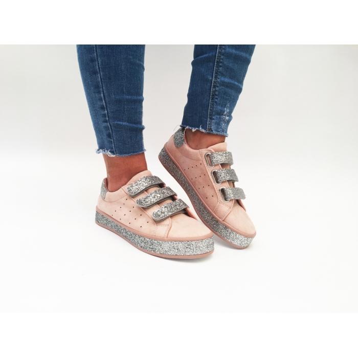 Pantofi Casual Sweet Pink