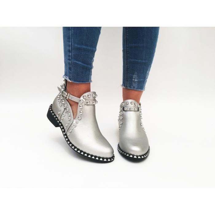 Pantofi Casual Destiny Silver