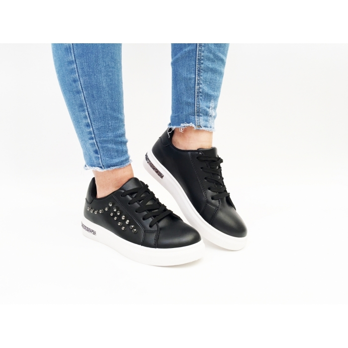 Pantofi Casual Moris Black