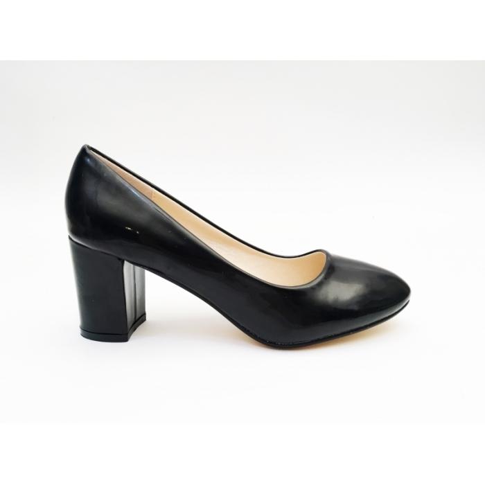 Pantofi cu toc Lizette Black