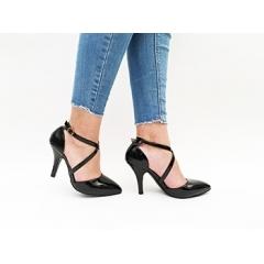 Pantofi cu toc Omar Black