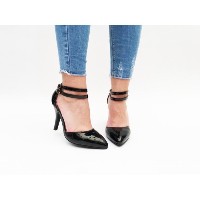 Pantofi cu toc Vedos Black