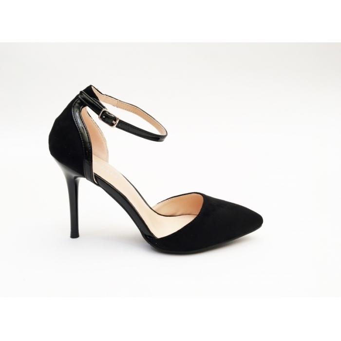 Pantofi cu toc Domis Black