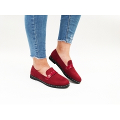 Pantofi Casual Savina Wine