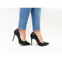 Pantofi cu toc Doxy Black