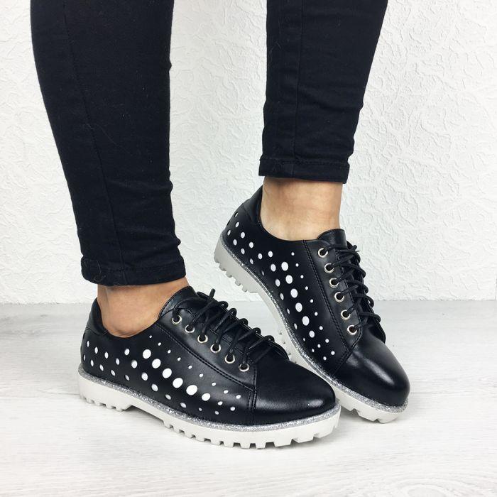 Pantofi Casual Hako Black