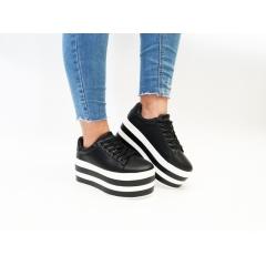 Pantofi Casual Samo Black