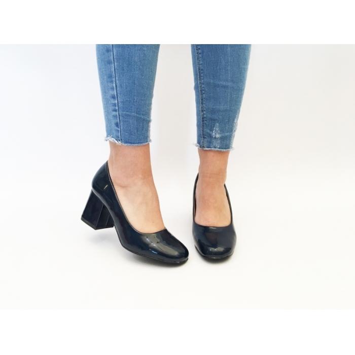 Pantofi cu toc Alux Blue