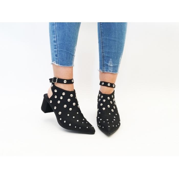 Pantofi Casual Kaida Black