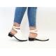 Pantofi Casual Korada White