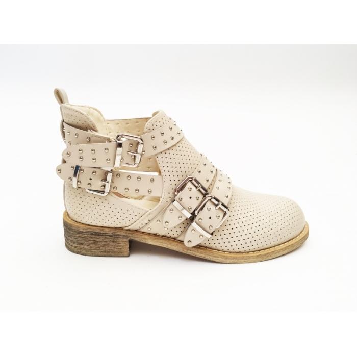 Pantofi Casual Pro Beige