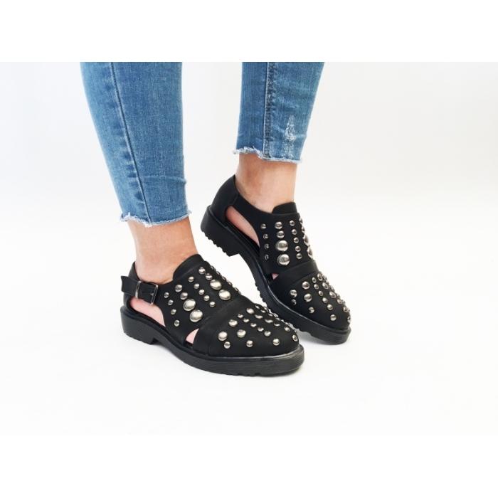 Pantofi Casual Polo Black