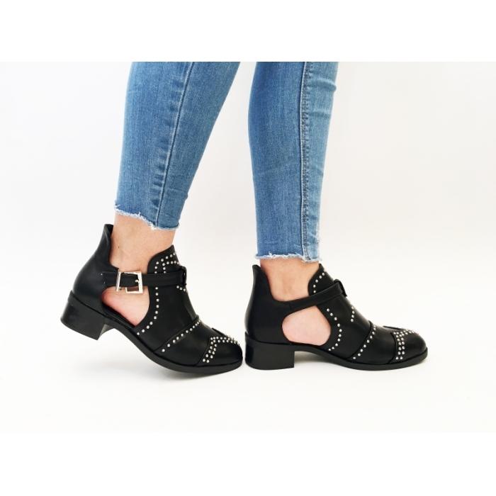 Pantofi Casual Hosta Black