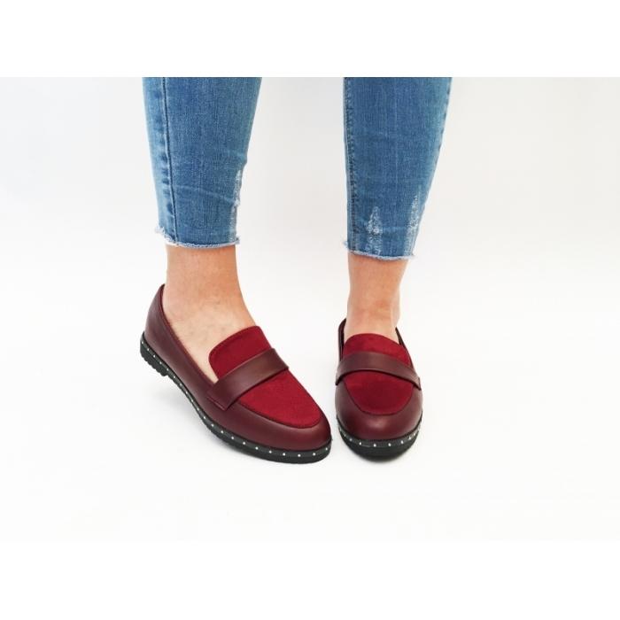 Pantofi Casual Cadin Wine