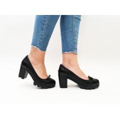 Pantofi cu toc Calena Black