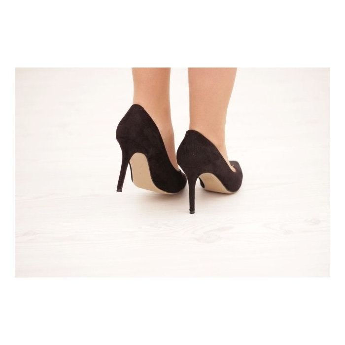 Pantofi cu toc Margot Black