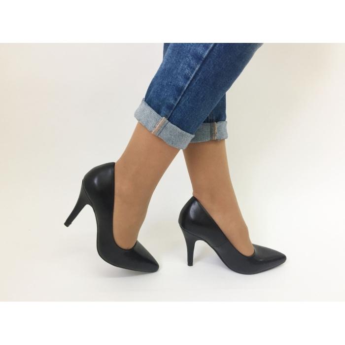 Pantofi cu toc Kim Black