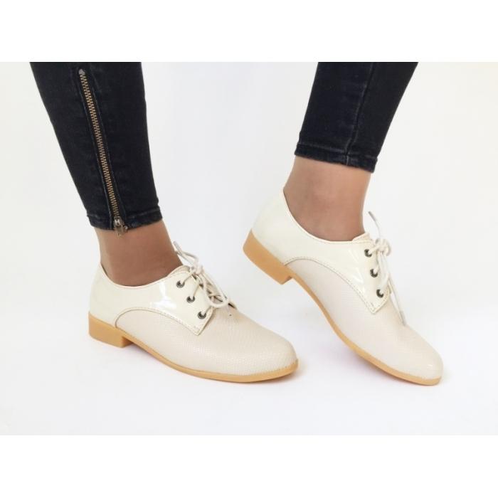 Pantofi Casual Amira Beige